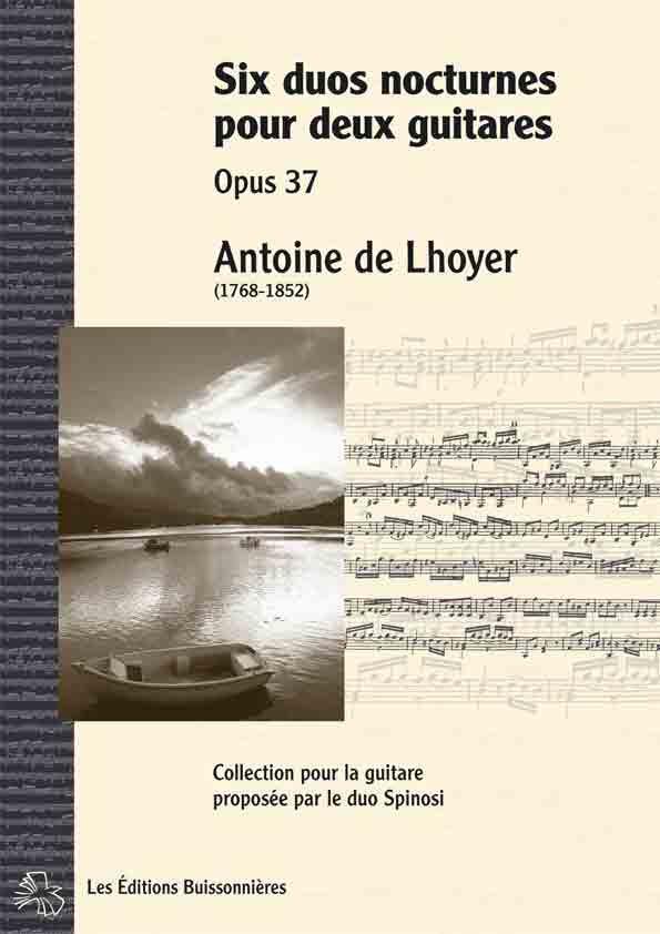 De Lhoyer Six duos nocturnes pour deux guitares