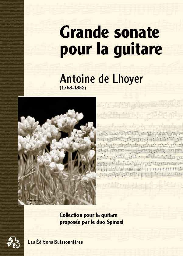 De Lhoyer Grande sonate pour la guitare