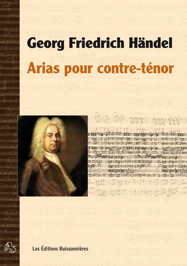 Händel : arias pour contre-ténor