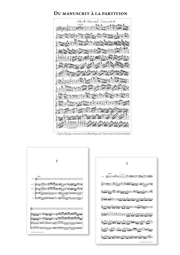 Johann Adolf HASSE (1699-1783) : Concerto pour flûte & orchestre