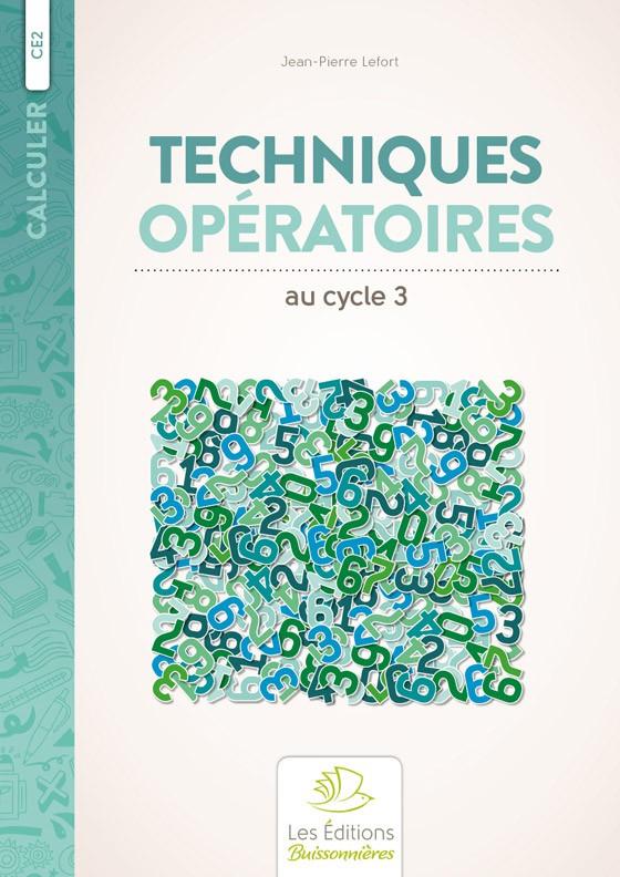 Techniques opératoires au cycle 3