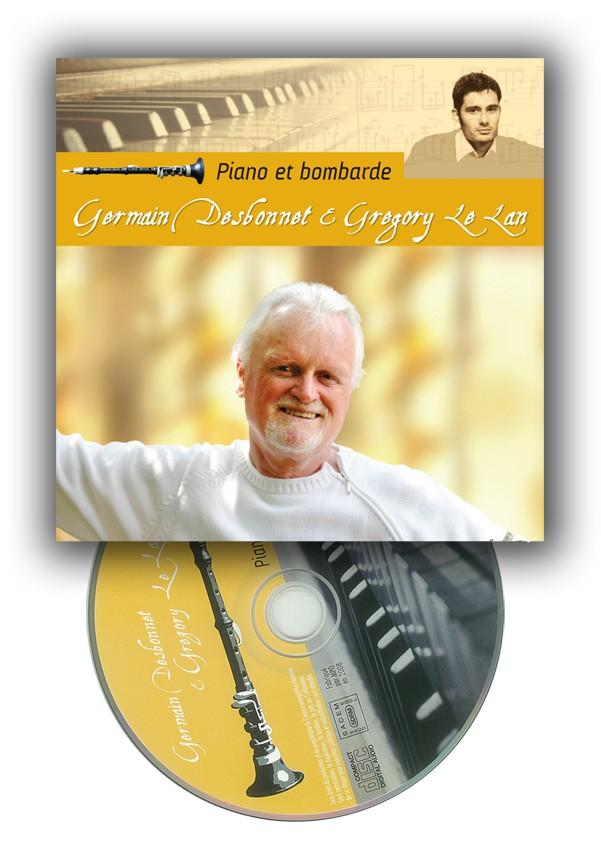 CD Piano et Bombarde, Germain Desbonnet