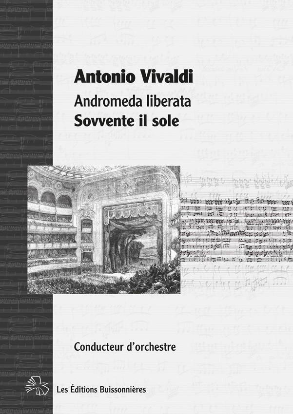 Vivaldi : Sovvente il sole (Andromeda liberata, Perseo) matériel d'orchestre
