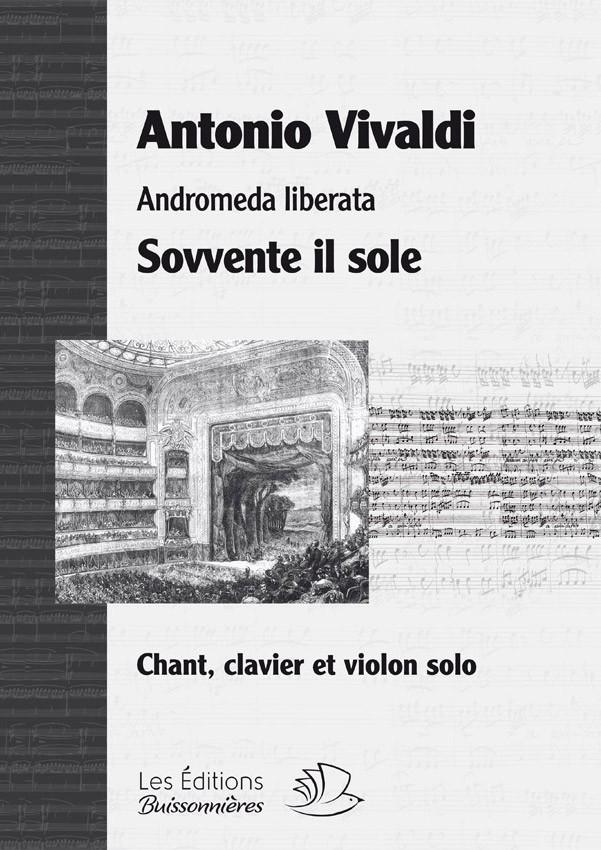 Vivaldi : Sovvente il sole, Andromeda liberata, chant et clavier (piano)