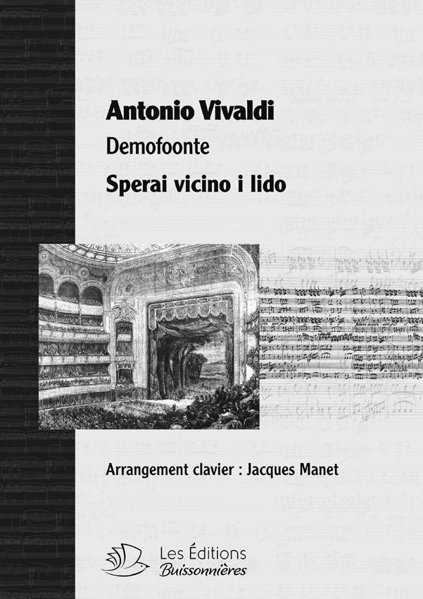 Vivaldi : Sperai vicino il lido (Demofoonte) pour chant et clavier (piano)