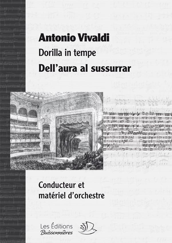 Vivaldi : Dell'aura al sussurrar (Dorilla in tempe) chant & orchestre