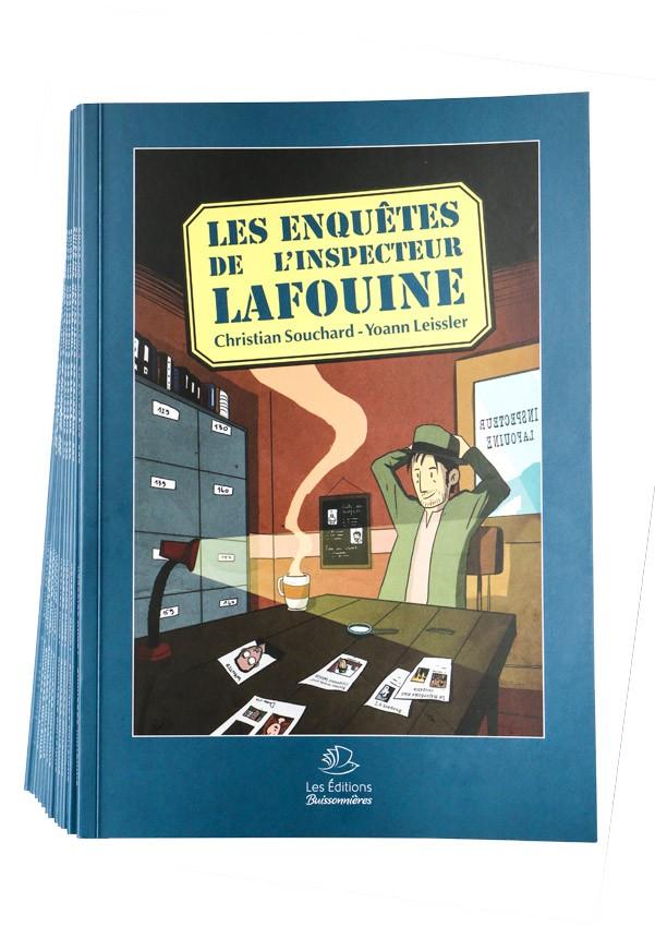 Lot de 12 + 1 BD Les Enquêtes de l'Inspecteur Lafouine volume 1