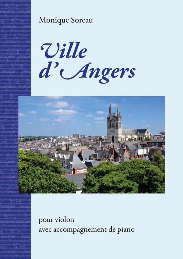 Monique Soreau, Ville d'Angers pour violon & piano