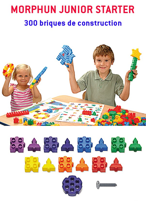 Morphun Junior Starter : 300 briques