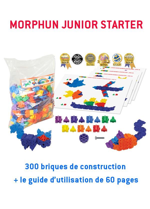 Morphun Junior Starter : 300 briques + guide