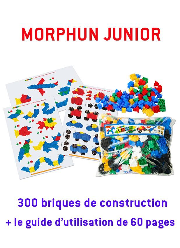 Morphun Junior : 300 briques + guide