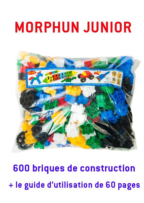 Morphun junior : 600 briques + le guide de 60 pages