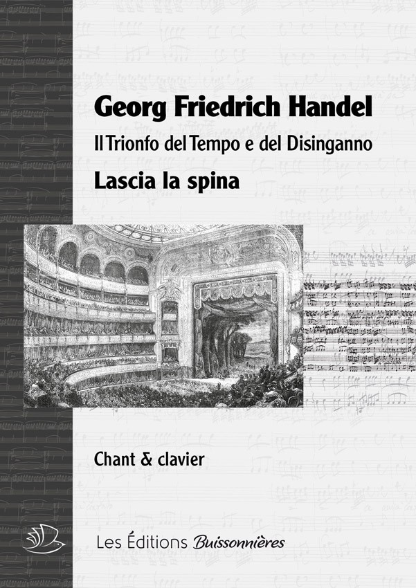 Handel : Lascia la spina, chant et clavier