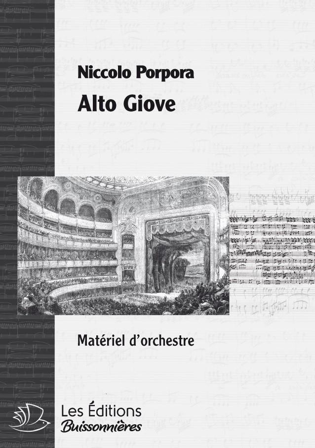 PORPORA : Alto Giove, chant & orchestre