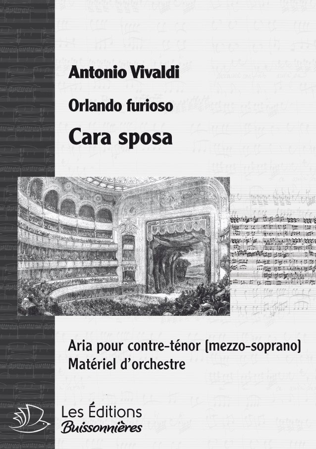 Vivaldi : Cara sposa (Orlando), chant et orchestre