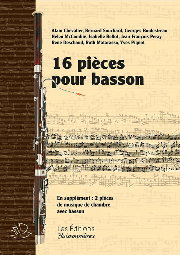 16 pièces pour basson (solo et avec piano)