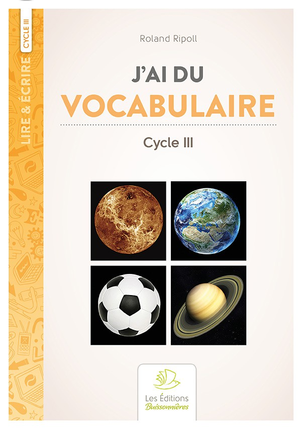 J'ai du vocabulaire