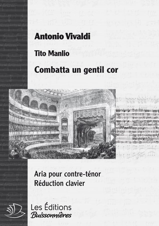 VIVALDI : Combatta un gentil cor, chant & clavier