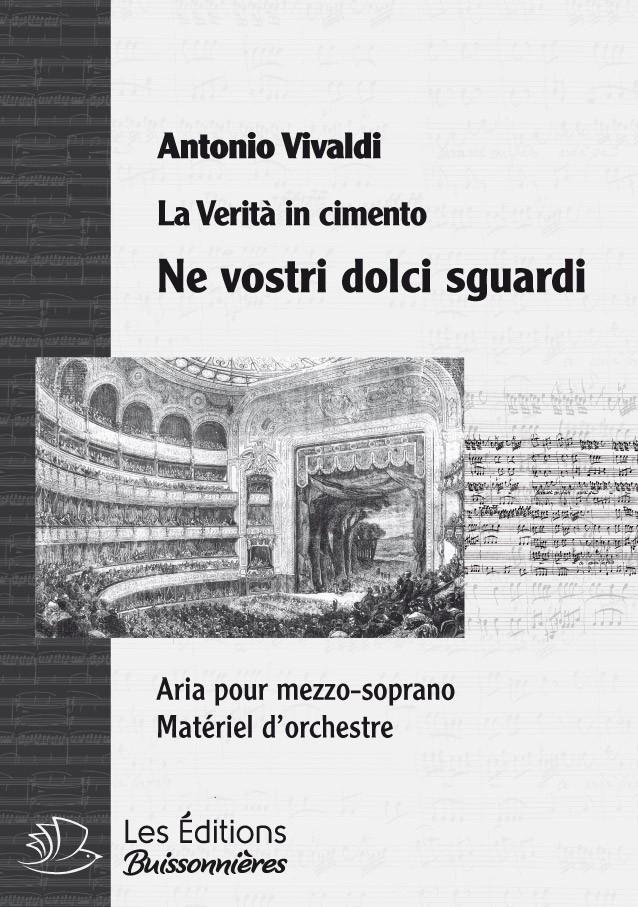 Vivaldi : Ne vostri dolci sguardi (La Verità in cimento) Matériel d'orchestre