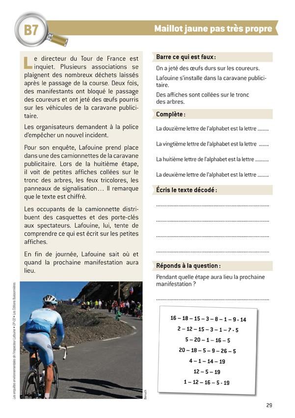 Les enquêtes environnementales de l'inspecteur Lafouine tome 6, CYCLE II