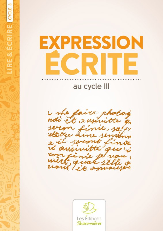 Expression écrite au cycle 3