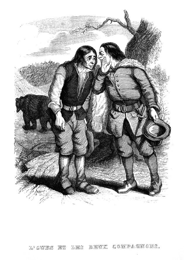 Emmanuel CLERC : Les deux chasseurs et la laitière, opéra