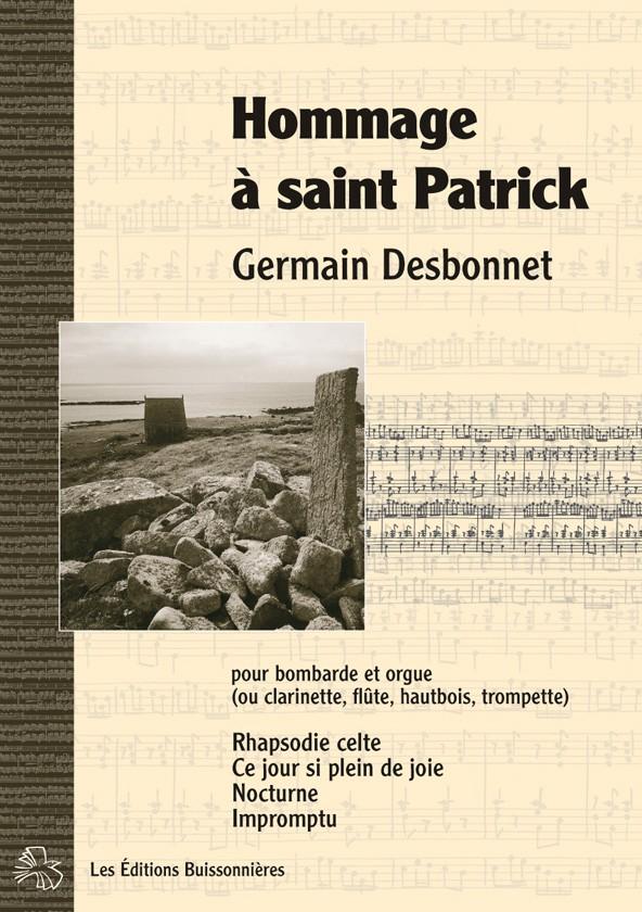 Desbonnet Hommage à Saint Patrick bombarde et orgue