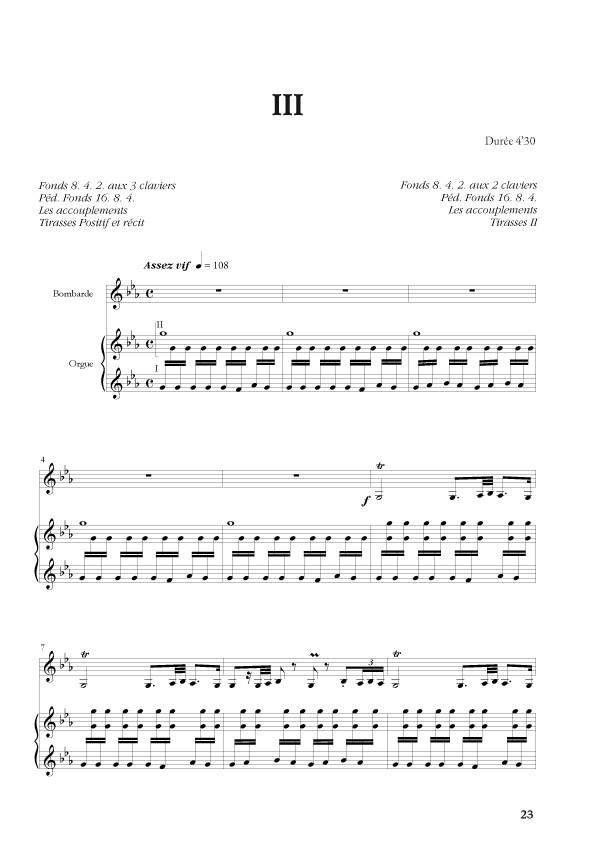 Germain Desbonnet : [I]Sonate Andalouse[/I] pour bombarde & orgue