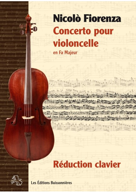 Nicolò FIORENZA (1700-1764) : concerto pour violoncelle en Fa Majeur - réduction piano