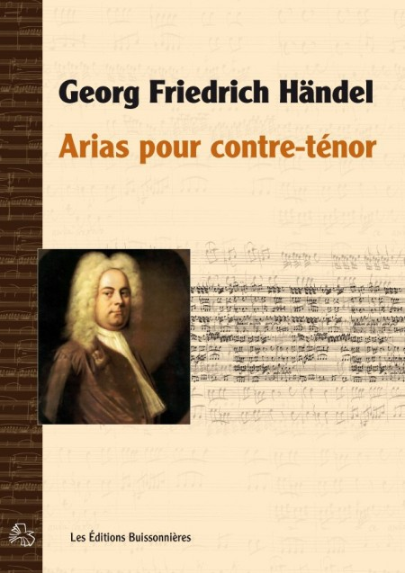 Georg Friedrich Händel : arias pour contre-ténor