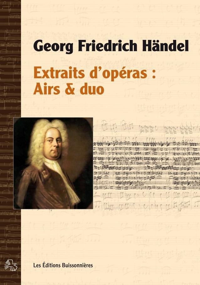 Georg Friedrich Händel  : extraits d'opéras