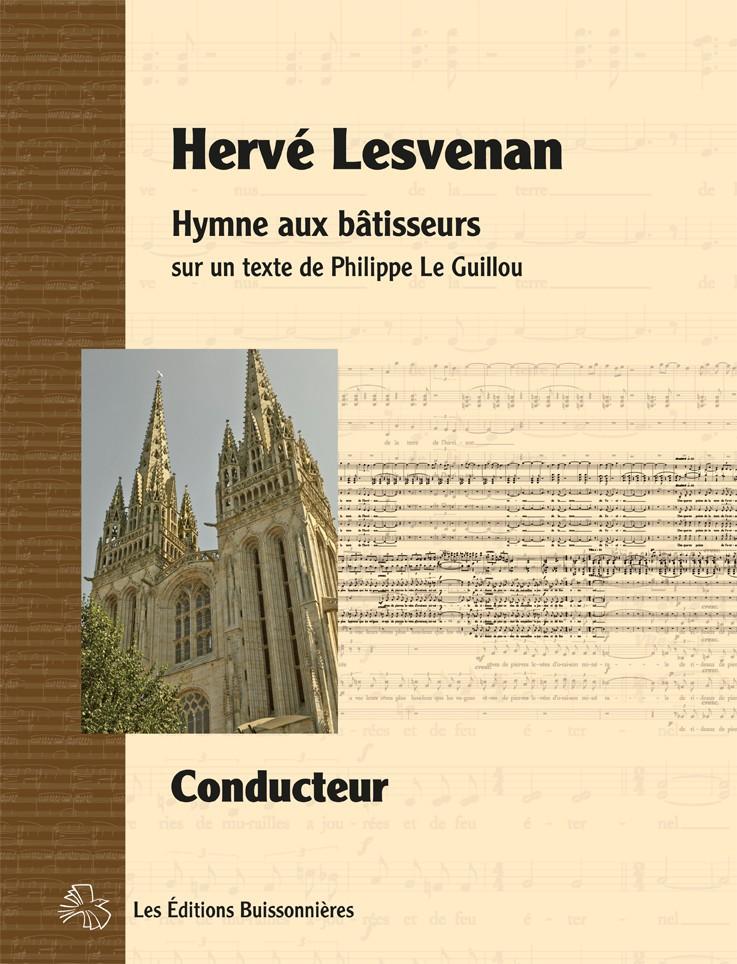 Lesvenan : Hymne aux bâtisseurs, matériel d'orchestre