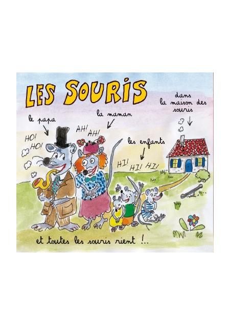 Les chansons animalières de Jean-Yves Lacombe, livre + CD