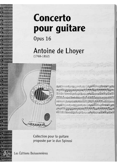 De Lhoyer, [I]Concerto pour guitare[/I][BR] conducteur