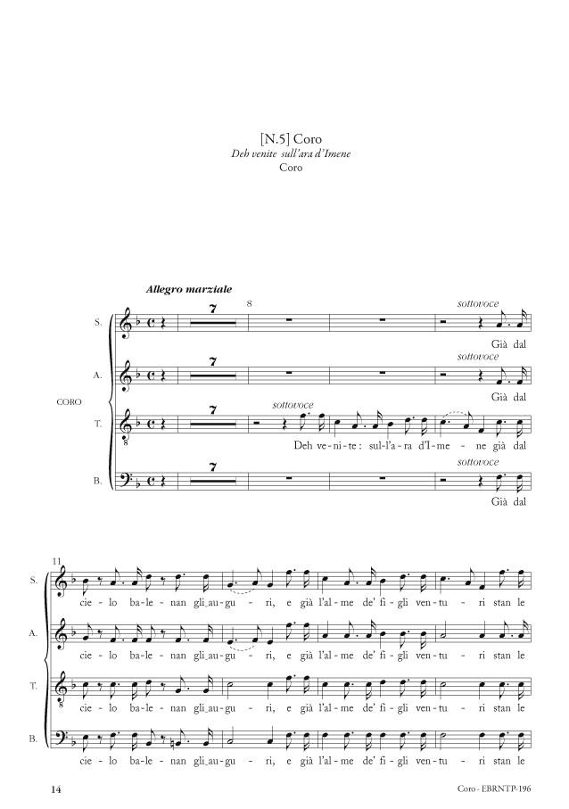 Le nozze di Teti e di Peleo (cantate de Gioacchino Rossini) Arias