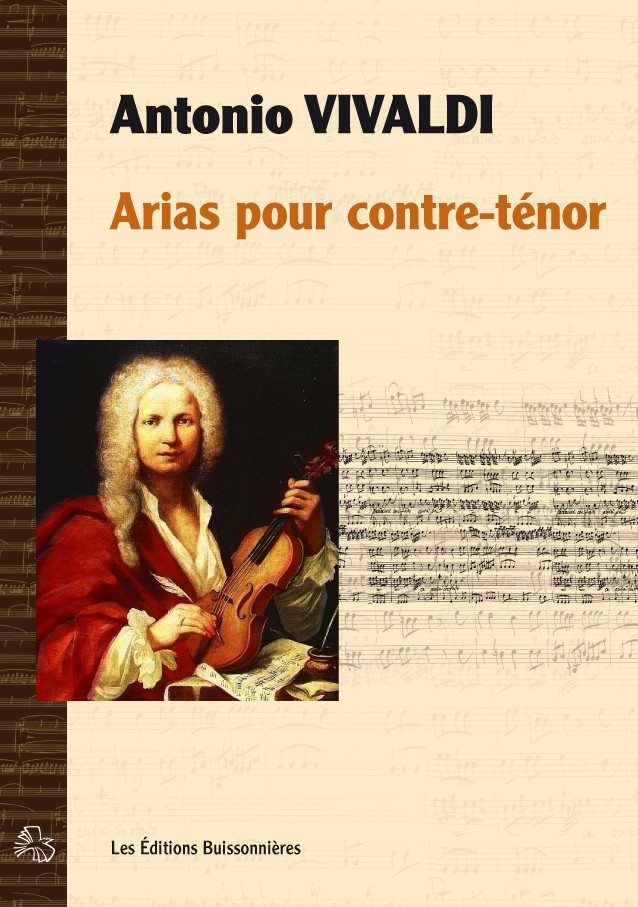 Antonio Vivaldi : arias pour contre-ténor