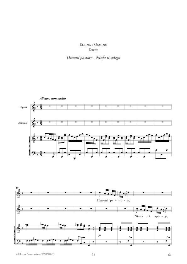 Antonio VIVALDI : extraits d'opéras