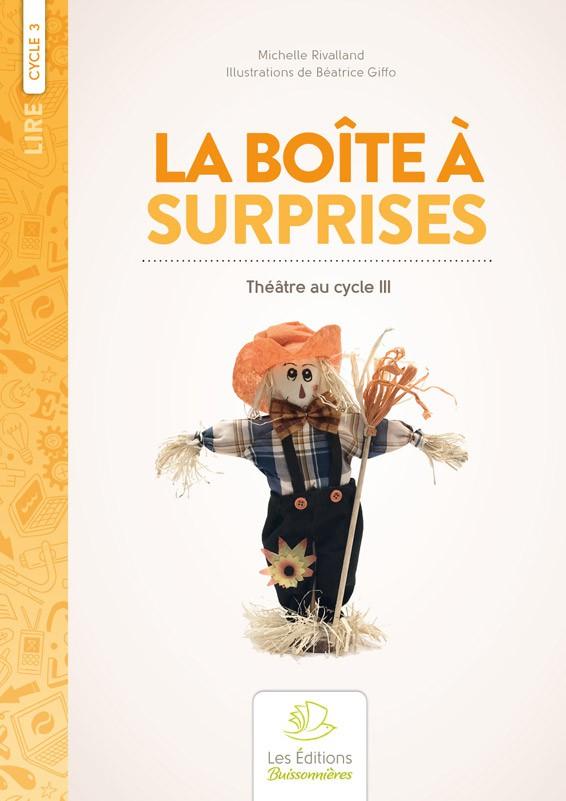 Boîte à surprises, 10 sketches, théâtre de marionnettes au cycle III