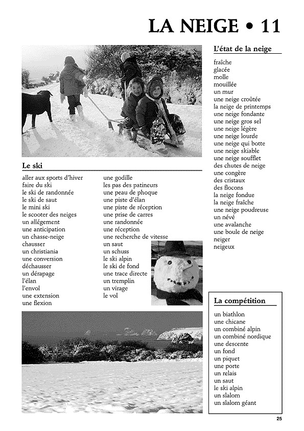 Vocabulaire pour l'expression écrite au cycle 3