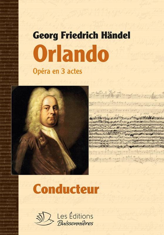 Händel : Orlando, matériel d'orchestre