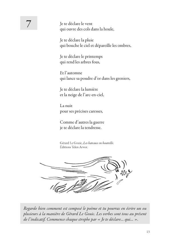 La Clé des Mots, recueil de poèmes et activités d'écriture au cycle III