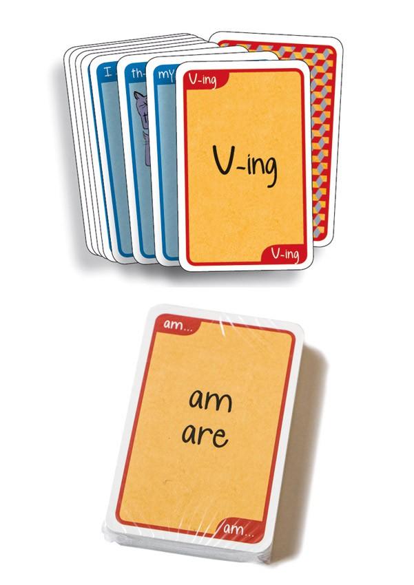 Grammar Cards® Jeux supplémentaires