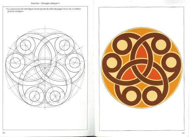 Motifs bretons et celtiques, méthodes de construction