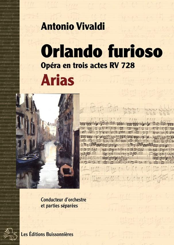 Vivaldi Orlando furioso (opéra RV 728) Arias