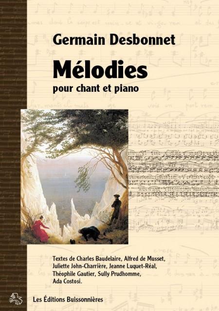 Desbonnet Mélodies pour chant et piano