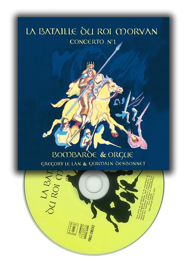 CD La bataille du roi Morvan, Germain Desbonnet