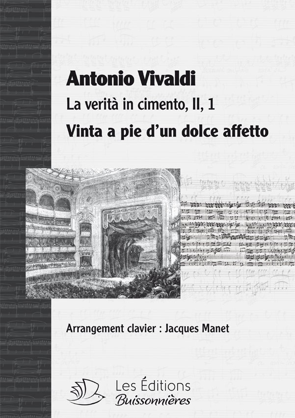 Vivaldi : Vinta a pie (La verità in cimento), chant et clavier (piano)