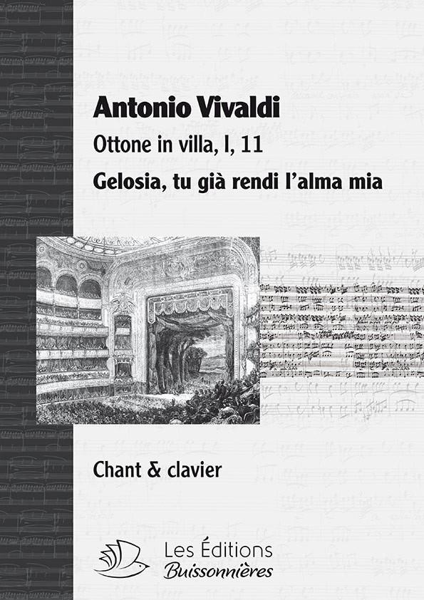 Vivaldi : Gelosia (Ottone in villa), chant et clavier