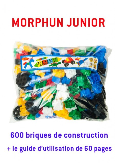 Morphun junior : 600 briques + le guide de 60 pages