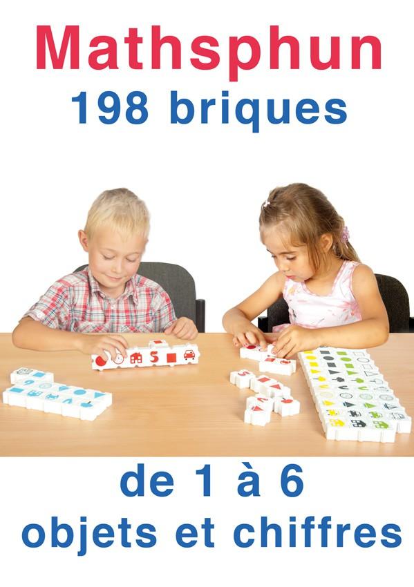 Mathsphun, 198 briques de 1 à 6